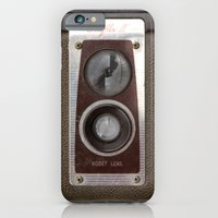 iPhone & iPod Case featuring Vintage Duaflex Camera by Typography Photography™