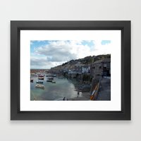 Mousehole, Cornwall Framed Art Print