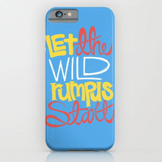 Where the Wild Things Are iPhone & iPod Case