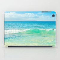 Ocean Blue Beach Dreams iPad Case