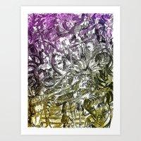 Pit Art Print
