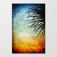 Sunrise Paradise Canvas Print