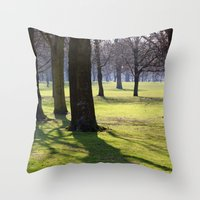 2009 - Park (High Res) Throw Pillow