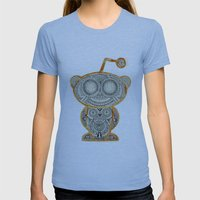 I'm very thankful for all the aliens I've met and loved Womens Fitted Tee Athletic Blue SMALL