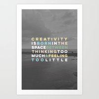 Creativity Art Print