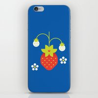 Fruit: Strawberry iPhone & iPod Skin