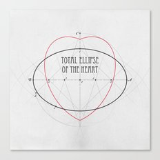 Total Ellipse of the Heart Canvas Print