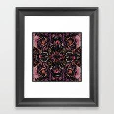 Urban flower Framed Art Print