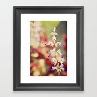 Autumn Garden Framed Art Print