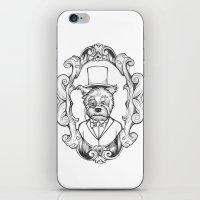 Gilles The Dapper Schnau… iPhone & iPod Skin