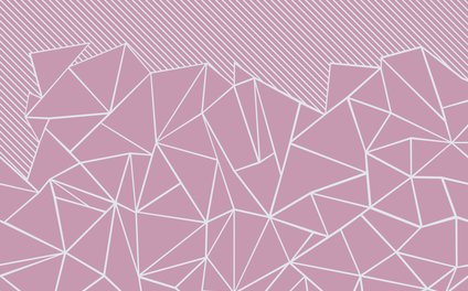 Art Print - Ab Lines 45 Pink - Project M