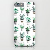 Bunch Of House Plants iPhone 6 Slim Case