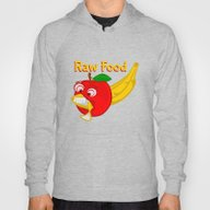 Raw Foods Food Fight Hoody
