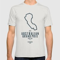 2013 Australian Grand Pr… Mens Fitted Tee Silver SMALL