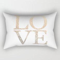 GOLD LOVE Rectangular Pillow