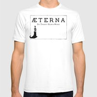Æterna Mens Fitted Tee White SMALL