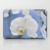 White Phalaenopsis iPad Case