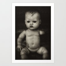 Lonely Portrait Art Print