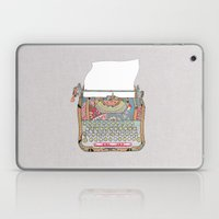 I DON'T KNOW WHAT TO WRI… Laptop & iPad Skin