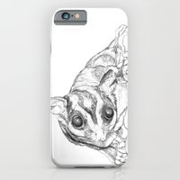 iPhone & iPod Case featuring A Sketch :: A Sugar Glider Named Loki by RipdNTorn