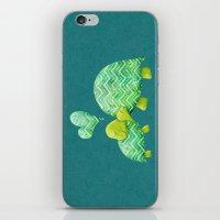 Turtle Hugs iPhone & iPod Skin