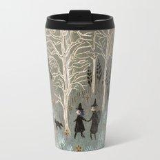 White Woods Travel Mug