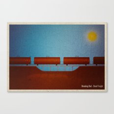 Breaking Bad - Dead Freight Canvas Print