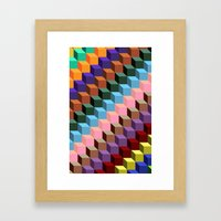 Up and Down Framed Art Print