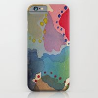 iPhone & iPod Case featuring Abstract Mini #13 by Teresa Cook
