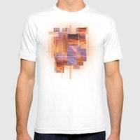 Beautiful Sky Mens Fitted Tee White SMALL