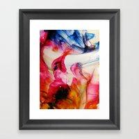 Dipole Moment Framed Art Print