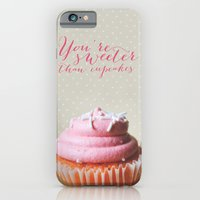 Sweeter Than Cupcakes iPhone 6 Slim Case