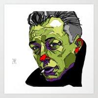 A. Camus Art Print