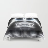 Darth Vader Electric Ghost Duvet Cover