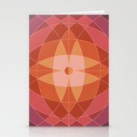 Midcentury Pattern 07 Stationery Cards