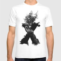 X Animals II Mens Fitted Tee White SMALL