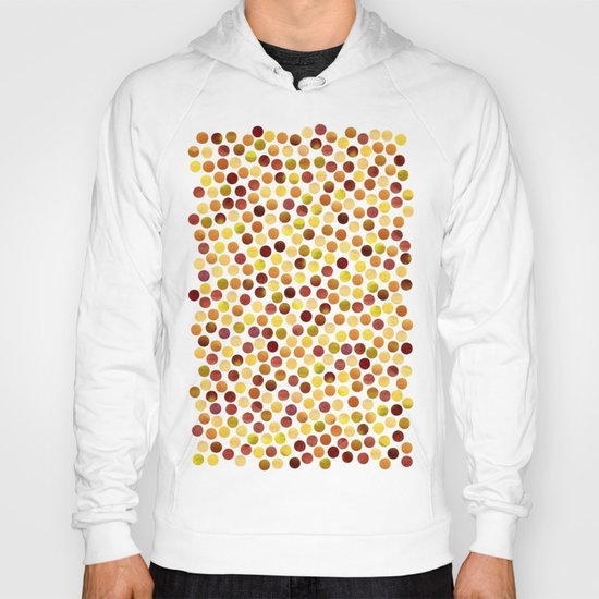Watercolor Dots_Amber Hoody