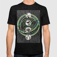 THE CREATION Mens Fitted Tee Tri-Black SMALL