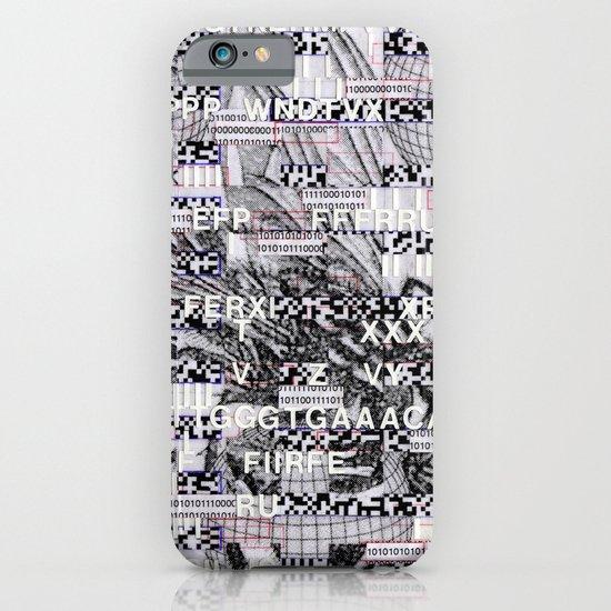 Surrender Your Information (P/D3 Glitch Collage Studies) iPhone & iPod Case