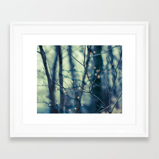 Woodland Holiday  Framed Art Print