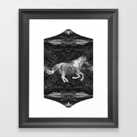 Ciel du Cheval Framed Art Print