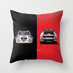 Group B Edition, N.º2, Lancia Delta S4 Throw Pillow