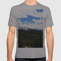 Berthoud Pass Mens Fitted Tee Athletic Grey SMALL