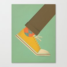 Argyle Sock Canvas Print