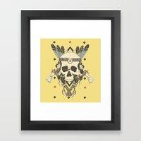 DEAD INJUN Framed Art Print
