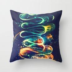 Leptocephalus Throw Pillow