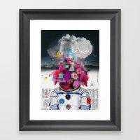 Censored Serenity Framed Art Print