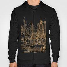 New York! Night Hoody