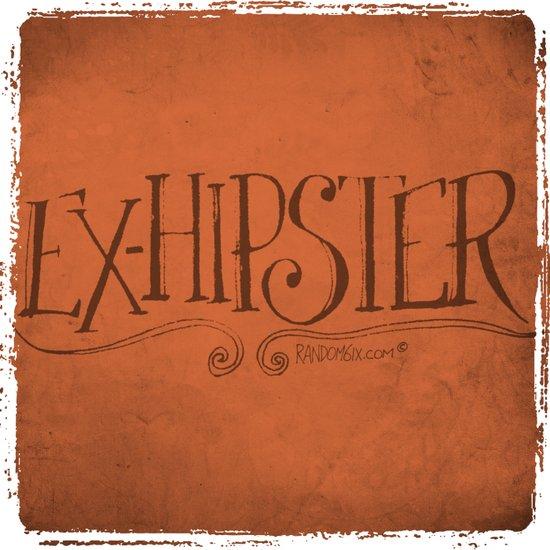 Handwriting: ExHipster Art Print