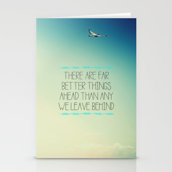 Better Things Stationery Card